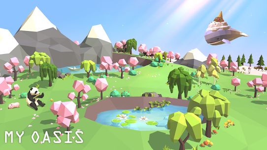 My Oasis: Calming and Relaxing Idle Mod Apk (Unlimited Money) 2
