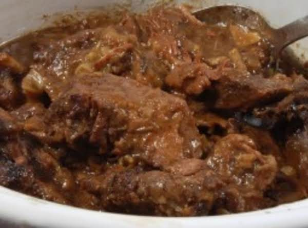 Shelby's Yummolicious Crockpot Rib Dinner Recipe