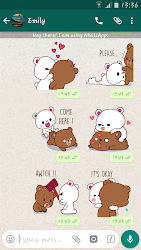 Lovely Bears Stickers For Whatsapp - WASticker APK 7