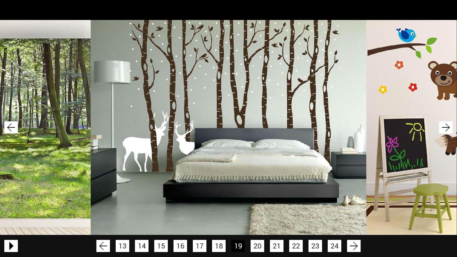 Wall art decor android apps on google play - Idee deco wallpaper volwassene kamer ...