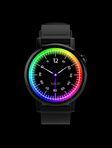 Chroma Watch face screenshot 2