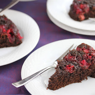 Cranberry Ginger Upside-Down Cake Recipe – 50 Women Game Changers in Food – Nancy Silverton