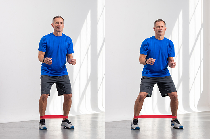 top-weight-gain-exercises-banded-side-steps