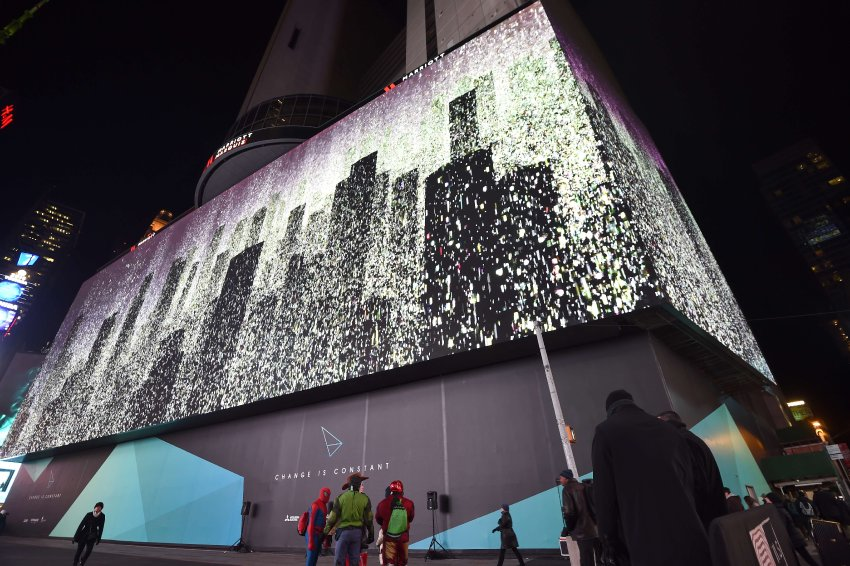 Times Square Videoleinwand
