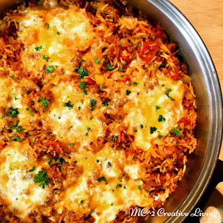 Crumbled Italian Sausage with Rice Casserole Recipe
