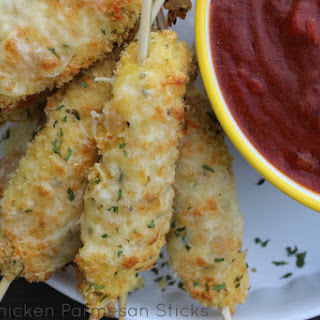 Great Parmesan Chicken Tenders
