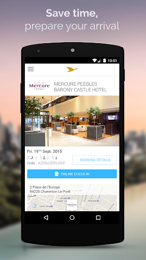AccorHotels hotel booking app (apk) free download for Android/PC/Windows screenshot