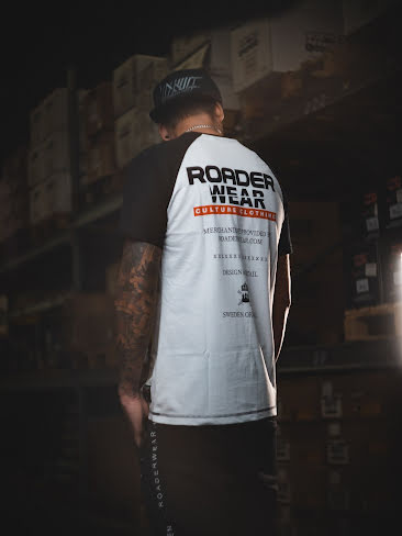 ROADERWEAR BASEBALL TEE