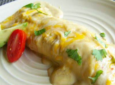 Shortcut Honey Lime Chicken Enchiladas Recipe
