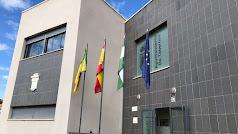 Fachada del Ayuntamiento de Tabernas.