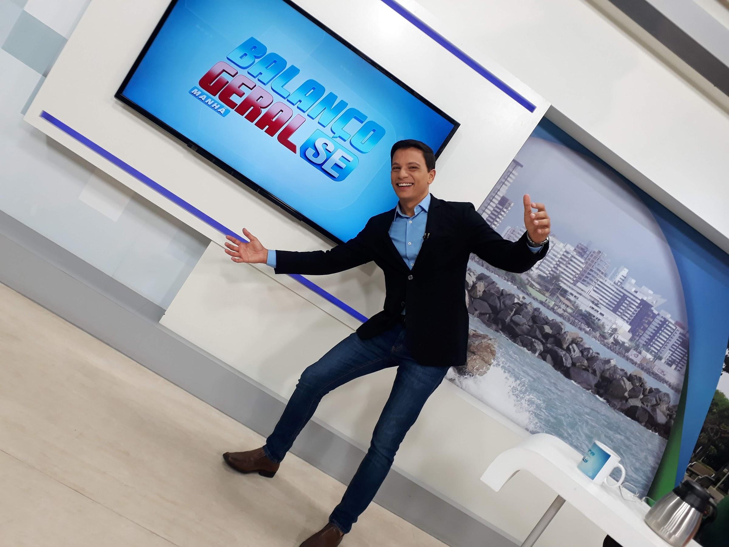 EX-Record TV Itapoan, Diego Barros muda o formato do 'Balanço Geral Manhã -SE' e faz sucesso no estado