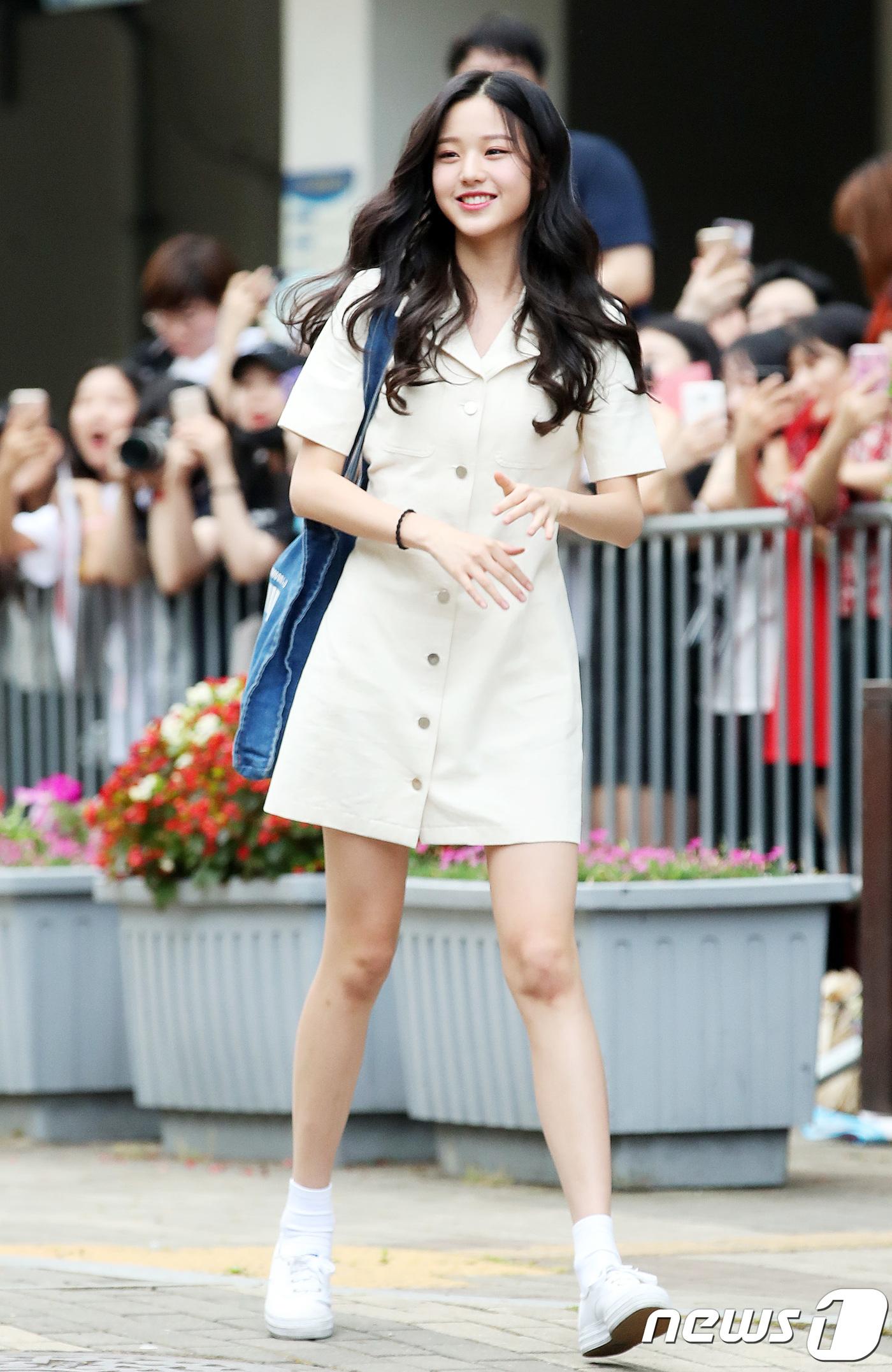 장원영, '프듀48' 1위의 위엄
