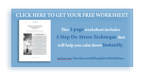 How Successful People Deal With Stress