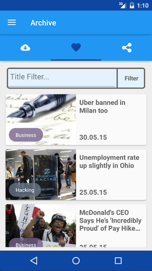 Newspaper 2.0- screenshot