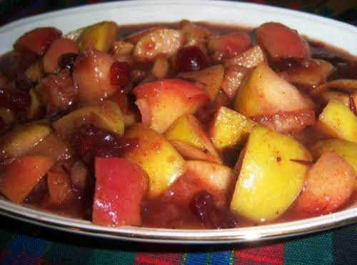 "Cranberry Apples ""It is a great side for any type of breakfast..."