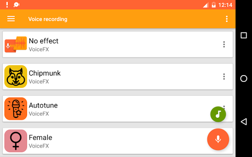 VoiceFX - Voice Changer with voice effects 1.1.0h screenshots 8