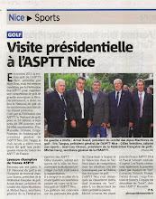Photo: Nice-Matin le 18 juin 2014_Golf
