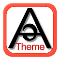 Alvə Material Red Light Theme icon