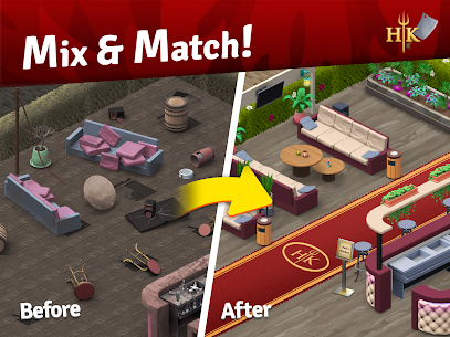 Hell's Kitchen: Match & Design MOD APK (Unlimited Moves) 8