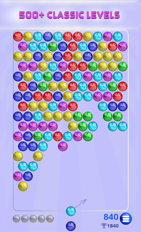 bubble shooter games with levels