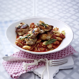 Chicken Legs with White Bean Ragout