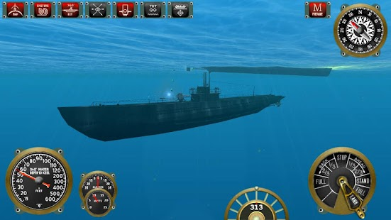 Silent Depth Submarine Sim Screenshot