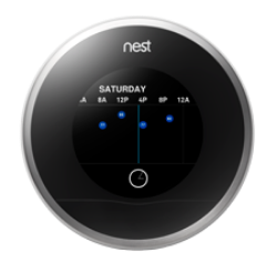 Nest thermostat Quick View menu