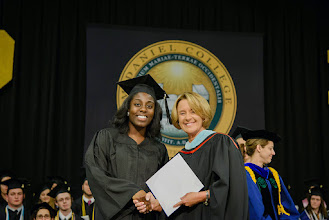 Photo: Stephanie Akoto, Social Work major from Columbia, Md., The Western Maryland Norman E. Sartorius Gift and Citation