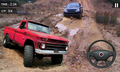 Pickup Truck Driving Simulator Uphill 3D 2019  captures d'u00e9cran 1