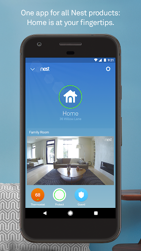 Screenshot for Nest in United States Play Store