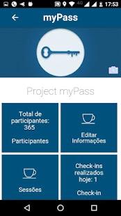 Project myPass (Beta) - náhled