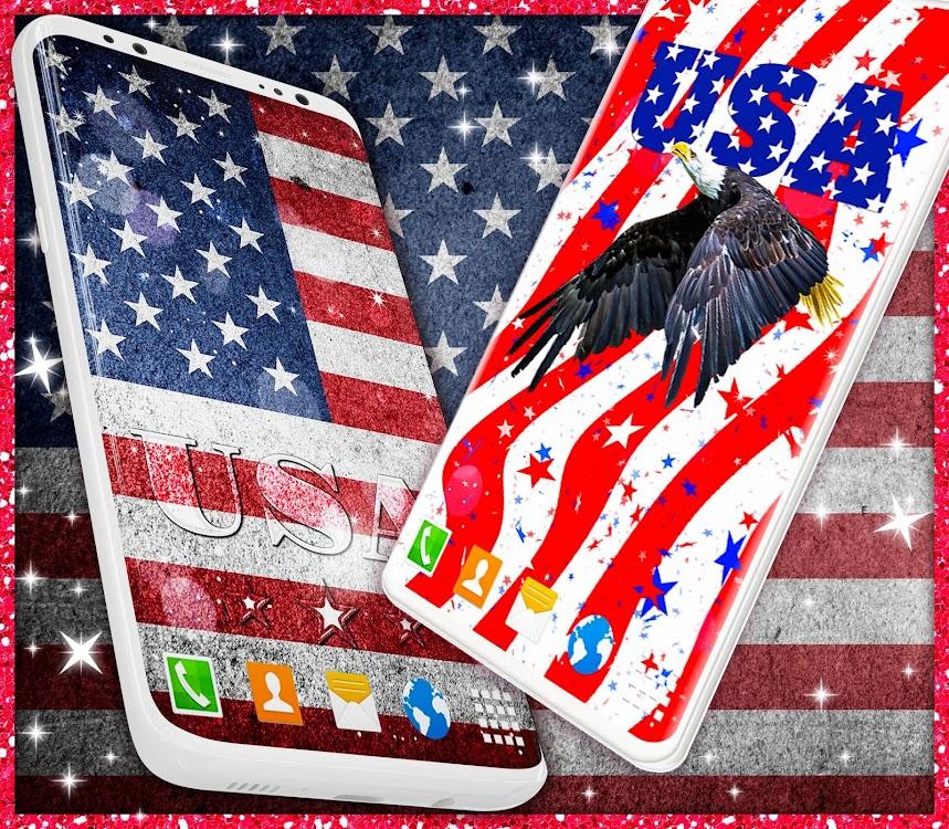 American Flag Wallpapers Usa Hd Wallpaper Theme