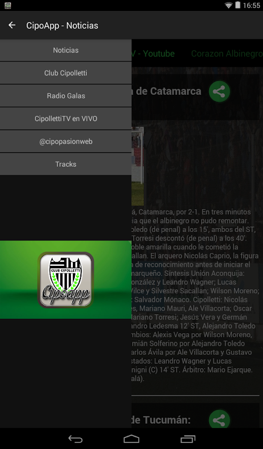 cipoapp- screenshot