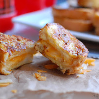 Triple Grilled Cheese Bites.