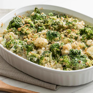 Broccoli Cauliflower Casserole.