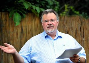 Photo: Kurt VLACH. Kassenverwalter-Stellvertreter und Redakteur. Foto: Barbara Zeininger
