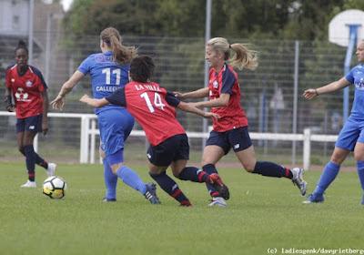 Red Flames van Lille verslaan KRC Genk Ladies in oefenpot