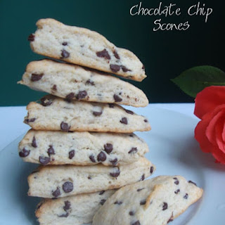 Scones with Chocolate Chips Recipe
