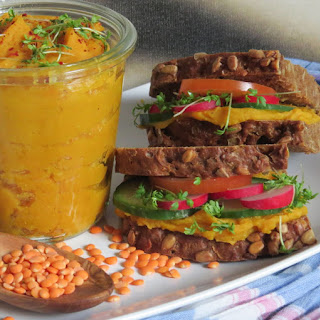 Red Lentil and Sweet Potato Spread