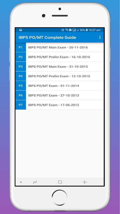 IBPS Bank PO/MT Complete Guide OFFLINE – (Android Apps) — AppAgg