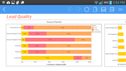 InetSoft Mobile Version 12.1 1.0.3 screenshots 2