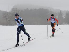 Photo: Petr se naučil lyžovat