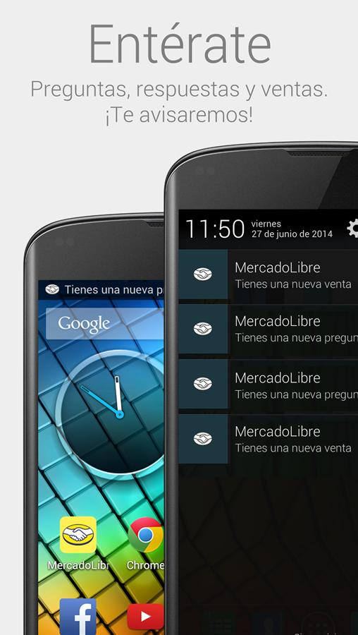Screenshots of Mercado Libre for iPhone