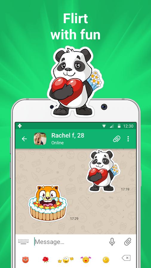 Screenshots of ДругВокруг: новые знакомства, онлайн чат for iPhone