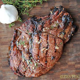 Rib-eye Steaks on the Big Green Egg.