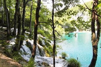 Photo: A tom już kaskadki i nastepne jeziorko