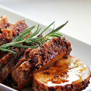 Slow Cooker Roast Pork with Apple Glaze Recipe