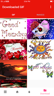 Good Morning Gif - náhled