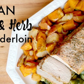 Crazy Delicious, Amazingly Simple One Pan Pork Tenderloin with Roasted Vegetables Recipe