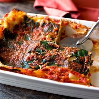 Lasagna With Collard Greens